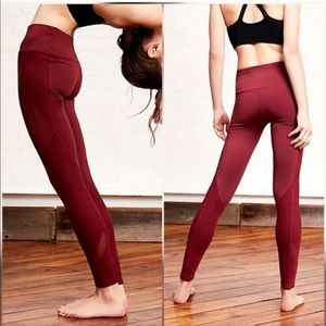 Free people movement Lira Leggings Wine XS